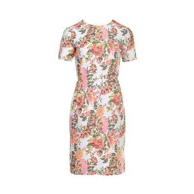 feminine flower pattern dress